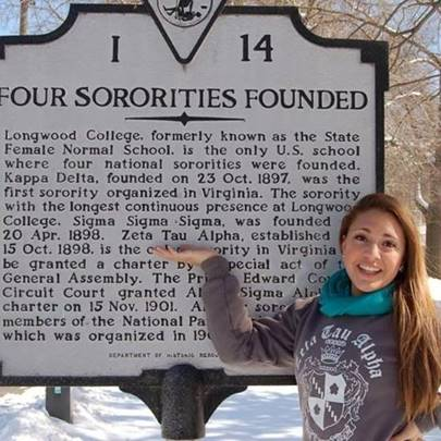 Photo Of 4 Sororities Founded At Longwood College