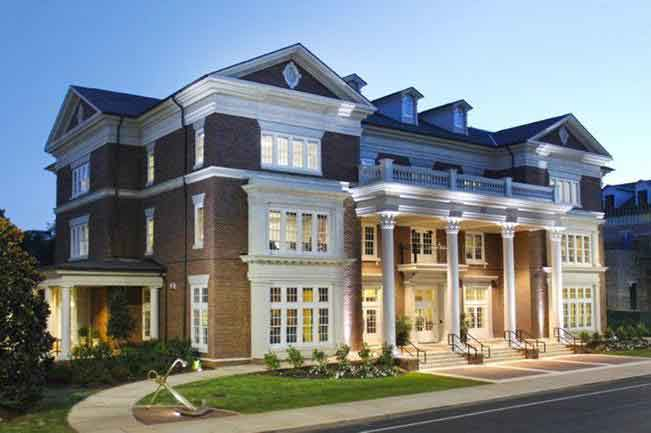 The 10 best sorority houses in america fall 2015 page for America best homes