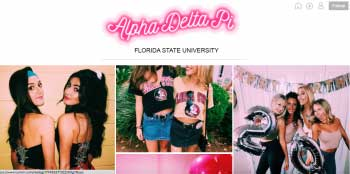 Alpha Delta Pi At FSU Wins At Tumblr