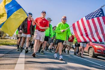 Troy University's ATO's Walk Hard For Heroes This Month